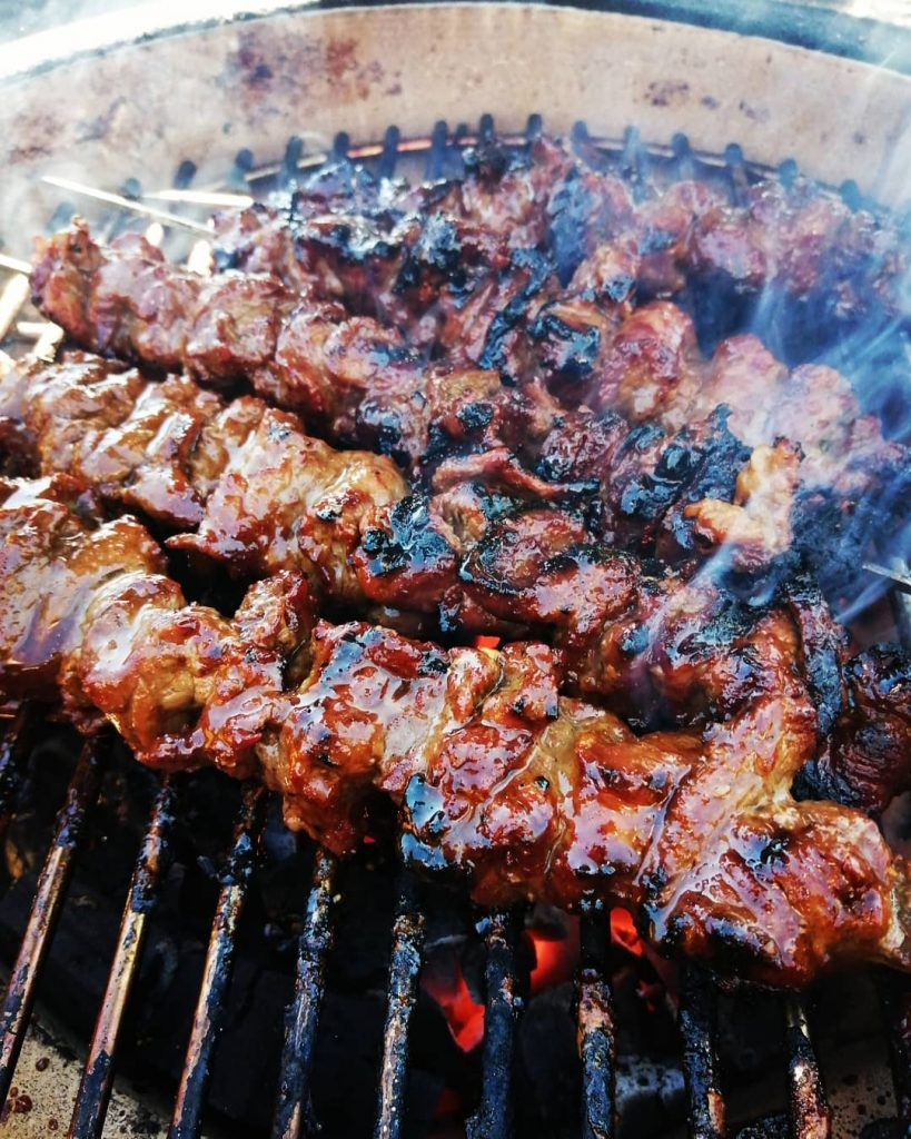 BBQ sauces for cooking on coals